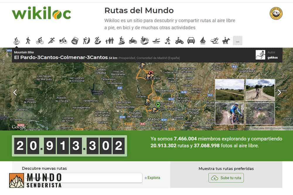 Wikiloc, la app líder en búsqueda y seguimiento de rutas de senderismo