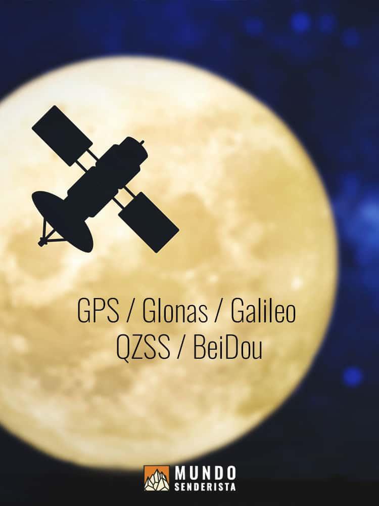 Existen diferentes sistemas de GPS para que nuestro móvil se conecte y mejore su precisión en rutas de senderismo. Se conoce como GPS Dual.