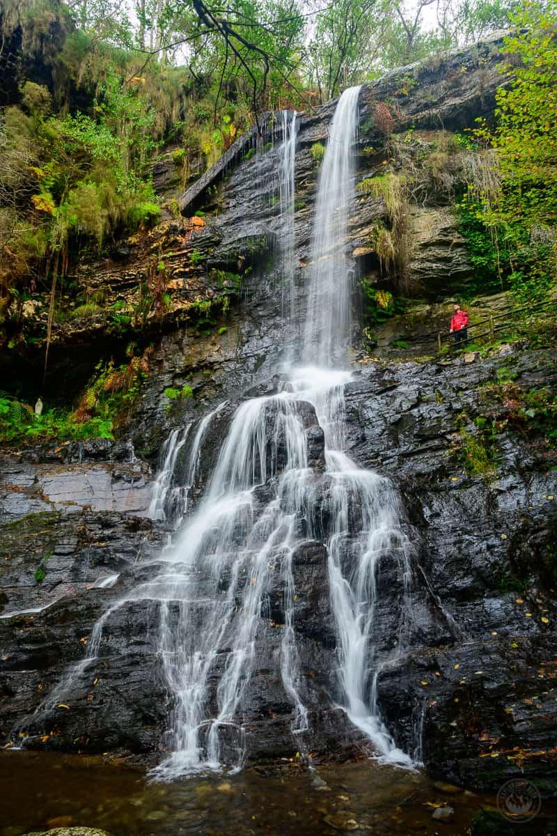 La cascada San Estevo do Ermo