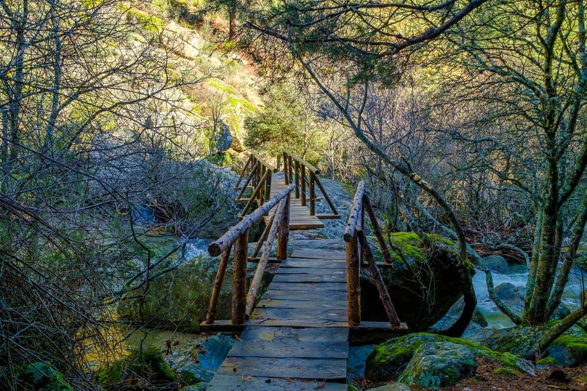 Ruta a las Chorreras del Manzanares en La Pedriza