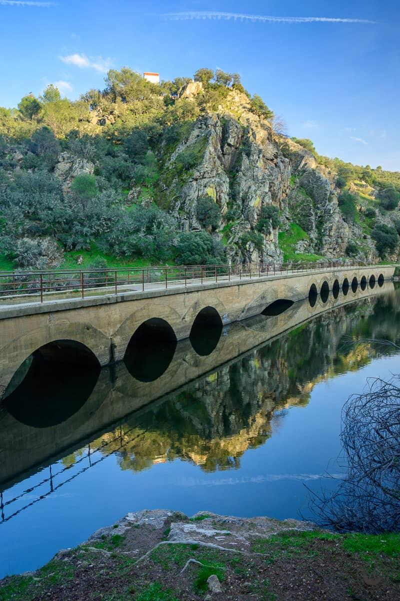Ruta Vía Verde del Ferrocarril por el río Alberche