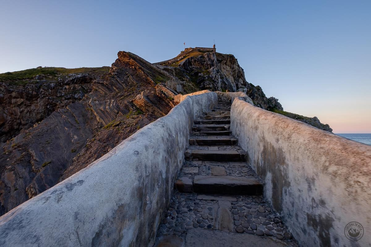 Escarelas de San Juan de Gaztelugatxe