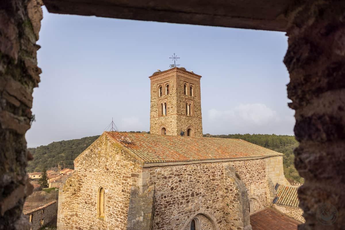 La Iglesia de Buitrago de Lozoya desde el castillo
