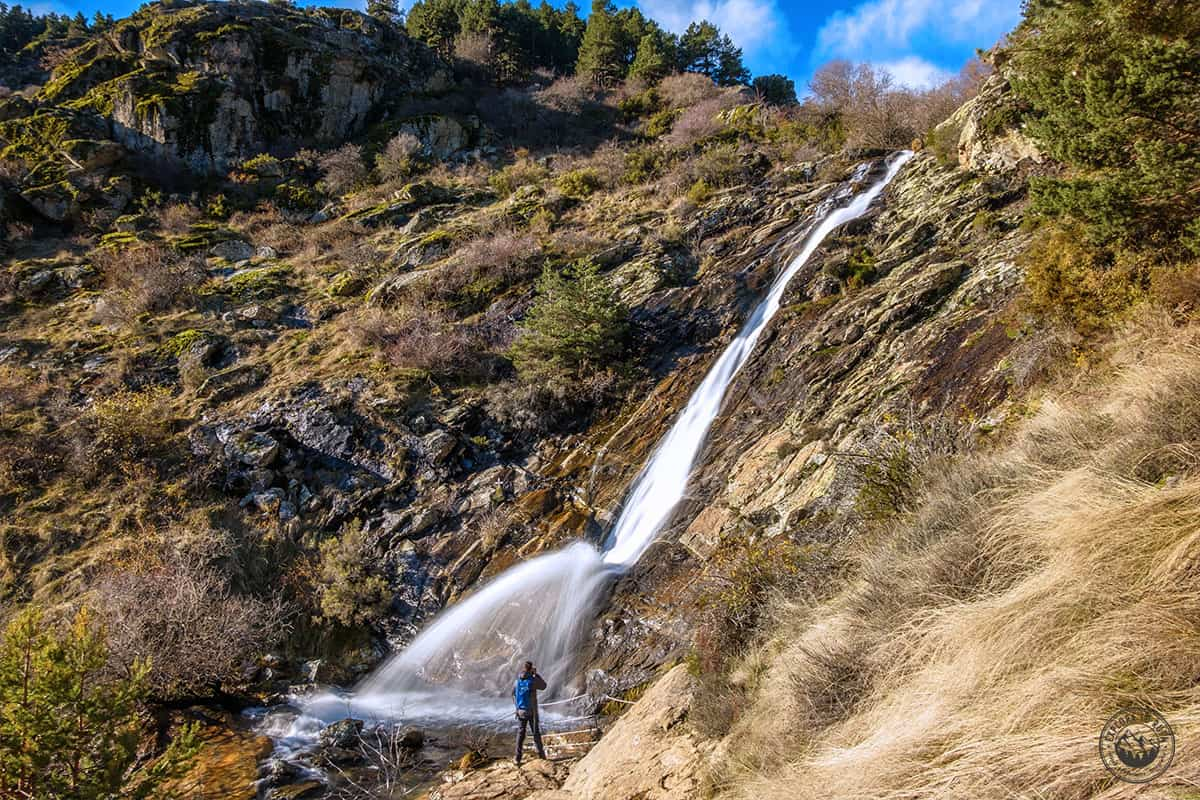 La Chorrera de San Mamés en el Valle del Lozoya