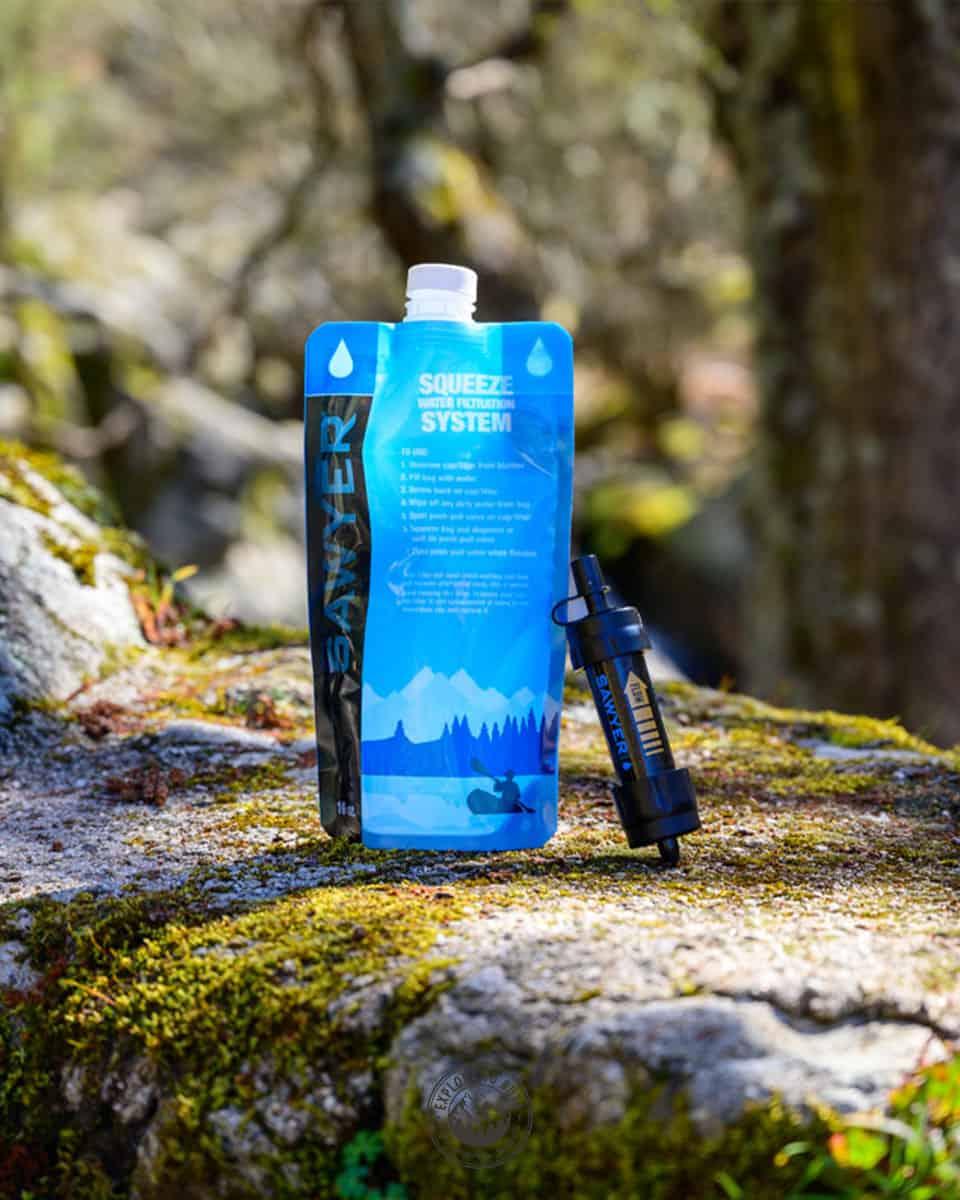 El mejor filtro para tratar el agua en exteriores, ya sea en la montaña o en una ruta de senderismo