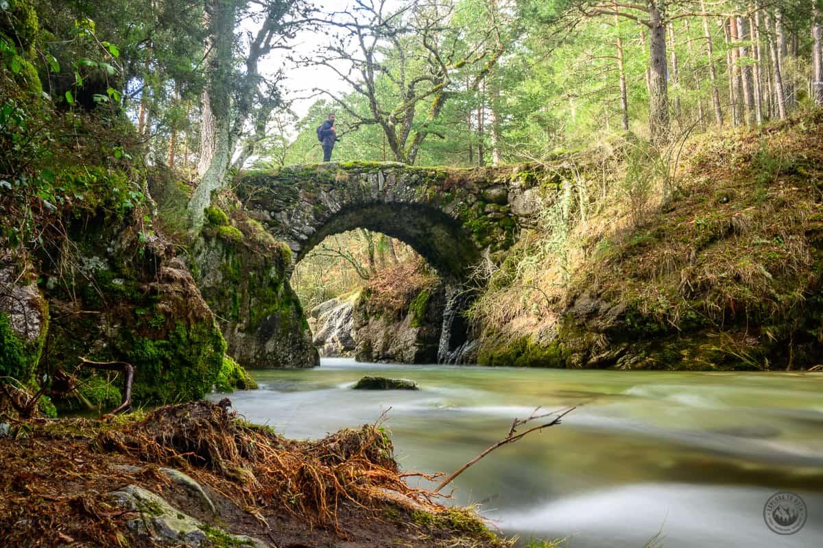 El Puente de la Angostura en el Valle del Lozoya