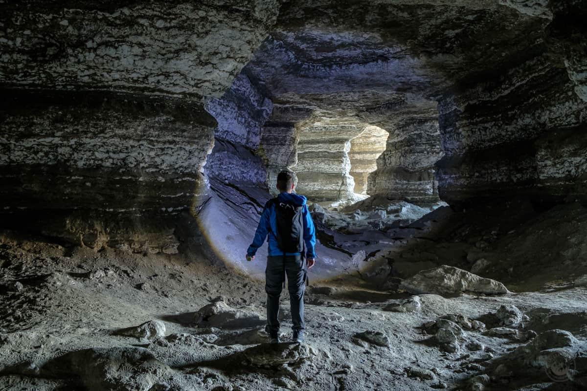 El interior de la Mina del Consuelo