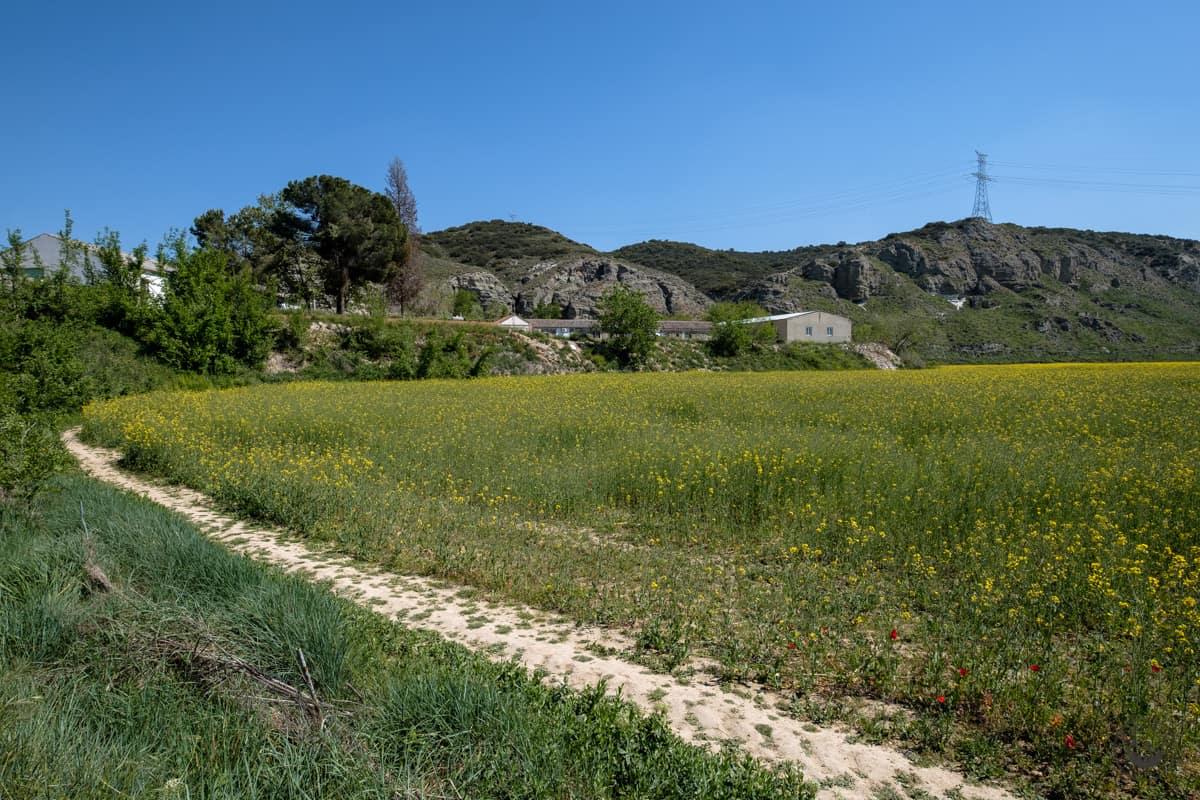 Ruta a la Mina del Consuelo ¿Cómo llegar a la mina de yeso desde San Martín de la Vega?